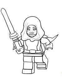 Barriss Offee Lego Starwars