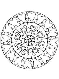 Onwijs Mandala kleurplaten   Gratis kleurplaten printen. BL-32