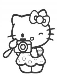 hello kitty foto maken