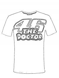 T-shirt Valentino Rossi 46 the doctor
