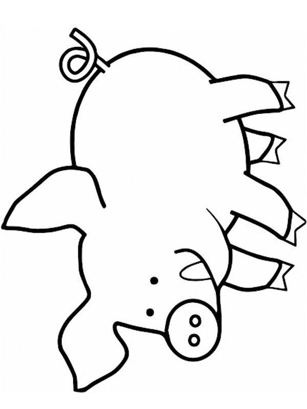 kleurplaat varken leukekleurplaten nl