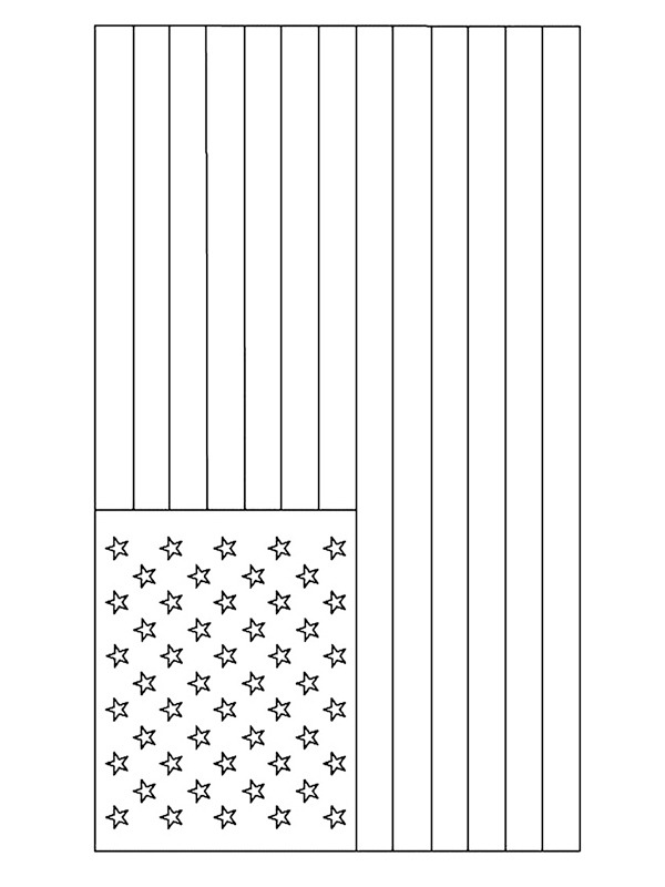 kleurplaat vlag amerika leukekleurplaten nl